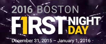 First Night First Day Boston Celebration 2016